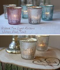silver tea light holders mercury glass pink teal silver tea light holders wedding table