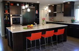 cherry kitchen cabinets black granite modern cherry red kitchen