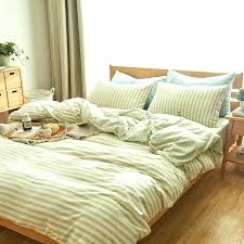 Jersey Cotton Duvet Set Knitted Cotton Jersey Duvet Cover Colour Stripe Linen Home Phone