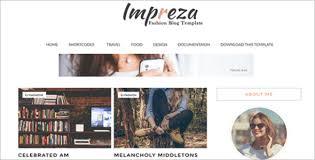 responsive free blog templates free u0026 premium themes creative