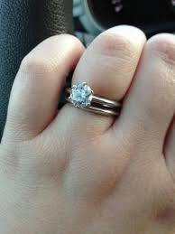 6 prong engagement ring show me your 6 prong rounds weddingbee