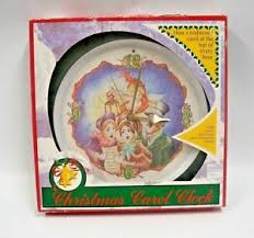 carol clock carolers feldstein musical ebay