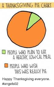 Pie Chart Meme Generator - a thanksgiving pie chart people who plan to eat people who wish