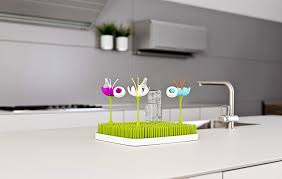 design accessories amazon com boon stem grass and lawn drying rack accessory blue