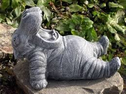 hippo garden ornament fasci garden