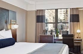 Decorated Rooms Wyndham New Yorker Hotel New York Purple Travel
