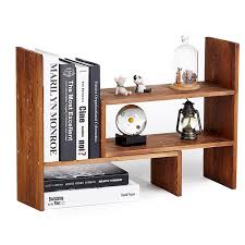 Wood Desk Organizers And Accessories by Desktop Shelves U0026 Office Shelves Shop Amazon Com