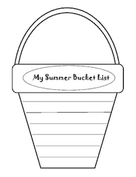 summer bucket list freebie k 3 ideas pinterest summer bucket