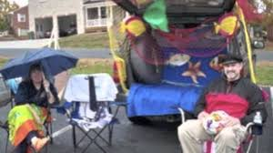 Halloween Trunk Decorations Trunk Or Treat Youtube