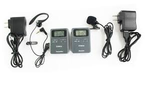 tour guide headset system exmax latest uhf 815 823mhz long distance whisper wireless tour