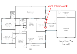 How To Remove Load Bearing Interior Wall The Victory Is Mine Load Bearing Wall Removed Load Bearing
