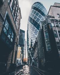 very cool perspective this is 30 st mary axe aka the gherkin
