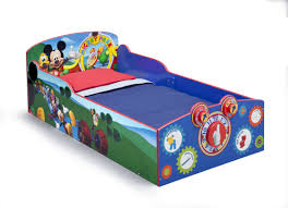 delta children mickey mouse toddler bed u0026 reviews wayfair
