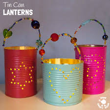 home made gifts homemade gifts tin can lanterns kids craft room