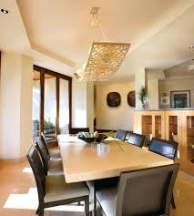 rectangle dining room table lighting for rectangular pendant