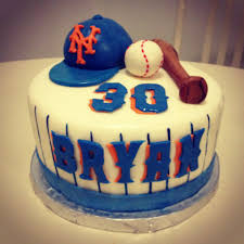 mets cake beisball party pinterest cake birthday cakes and