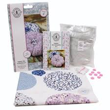 kirstie allsopp fabric pin cushion kit hobbycraft