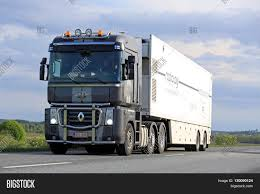 renault truck 2016 salo finland may 13 2016 grey image u0026 photo bigstock