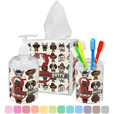 dog bathroom accessories set hipster dogs bathroom accessories