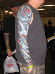 biomechanical tattoos and designs page 156