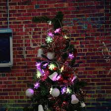 2 5m 5m led snowflakes string christmas light xmas tree ornament