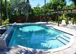only flip flops required at our key west style retreat pool