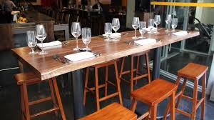 dining room bar table long bar table youtube