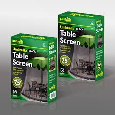 Umbrella Netting Mosquito by Outdoor Garden Umbrella Table Screen Parasol Mosquito Net Cover