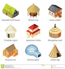 Different Styles Of Houses Different Kinds Of House Clipart Collection