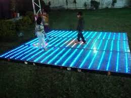 home made led floor