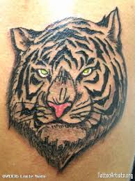 awesome grey ink tiger head tattoo tattoos pinterest tiger