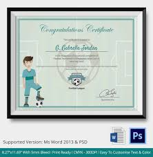 award certificate template 15 free word pdf psd