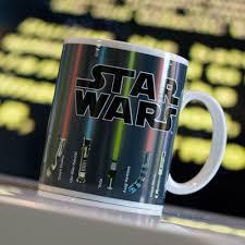 star wars lightsaber mug lightsabers appear when mug is heated