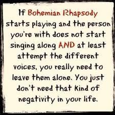 Bohemian Rhapsody Memes - it s always bohemian rhapsody lewronggeneration