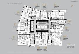 Plan 888 15 by One Burrard Place 1290 Burrard Street West End Vw Vancouver