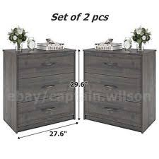 White Dresser And Nightstand Set Bedroom Dresser Set Ebay