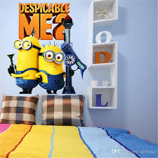 minions family despicable me 2 wall sticker wall decals home kids