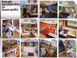 volkswagen camper inside thesamba com vw archives 1972 devon vw camper brochure