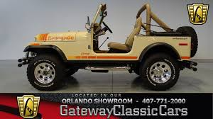 jeep beach decals 1979 jeep cj 7 gateway classic cars orlando 439 youtube