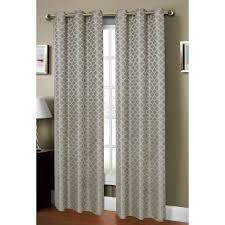 Lattice Design Curtains Window Elements Semi Opaque Sonata Woven Lattice 54 In W X 84 In