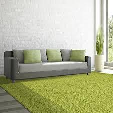 Lime Green Shag Rugs Lanart Comfort Shag Aqua 8 Ft X 10 Ft Area Rug Cshag810aq The