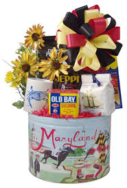 themed gift basket ideas gift baskets with maryland theme baltimore maryland delivery
