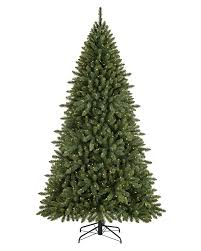 prelit artificial christmas trees with clear lights treetopia
