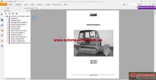 case dozers 650k 750k 850k tier 2 service manual auto repair