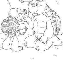 franklin lunch coloring pages hellokids
