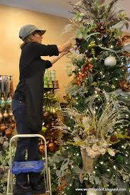 decorate christmas tree how to step by step designer s christmas tree decorating worthing