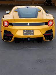 ferrari yellow interior unique ferrari f12tdf delivered