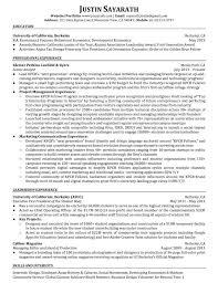 Economics Resume Resume U2014 Justin Sayarath
