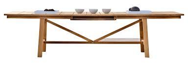 Dining Table Teak Serene Teak Extending Dining Table Contemporary Dining Room