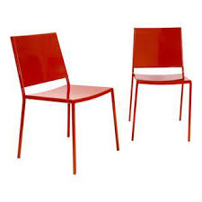 Red Metal Chair Vintage U0026 Used Italian Accent Chairs Chairish